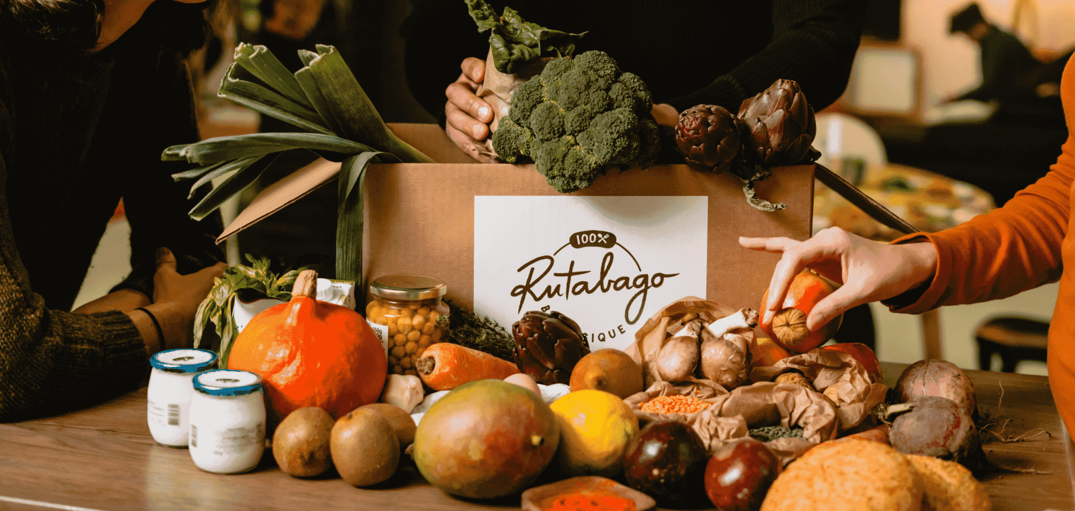 découverte box bio rutabago