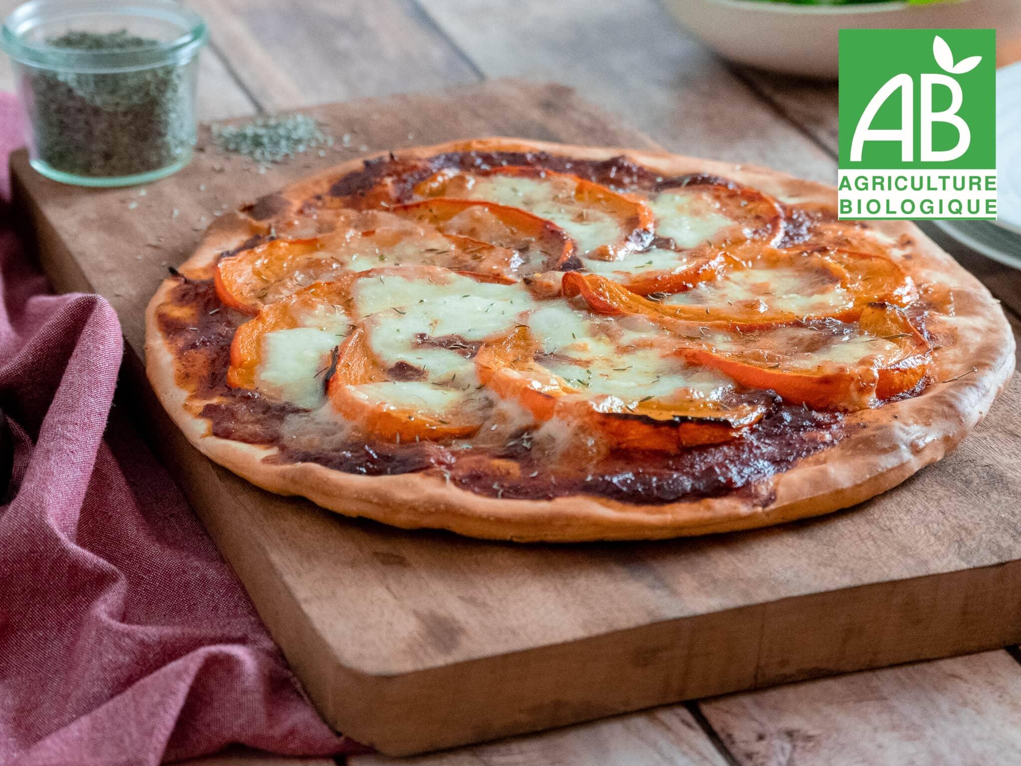 Recette 4 - Pizza au potimarron rôti